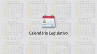 Calendário Legislativo 2018