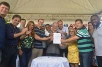 Câmara esteve representada em solenidade na Vila de Itaúnas
