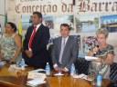 Câmara empossa Adélia Marchiori no cargo de prefeita
